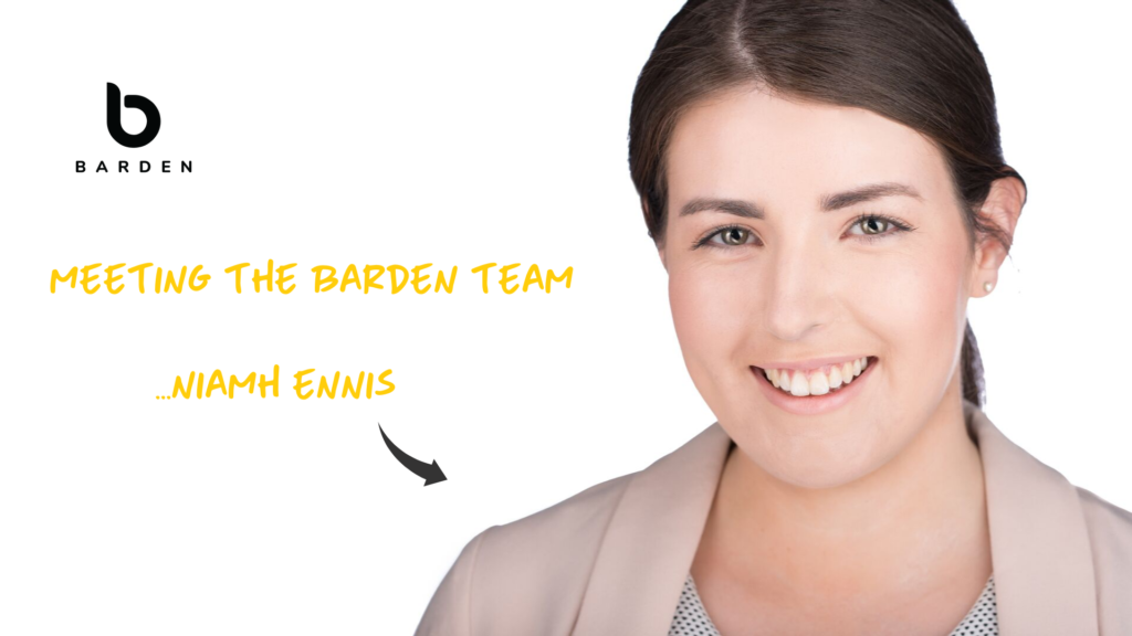 Meeting the Barden Team...Niamh Ennis