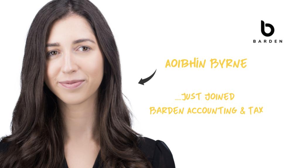 Aoibhín Byrne joins Barden Accounting & Tax