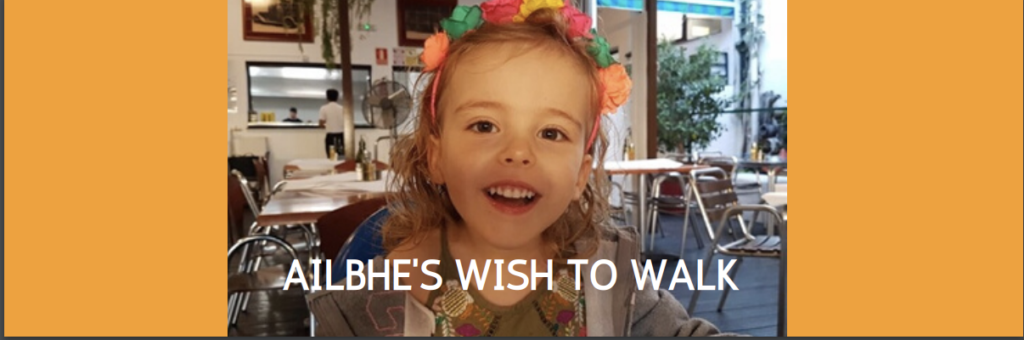 Ailbhe's Wish to Walk