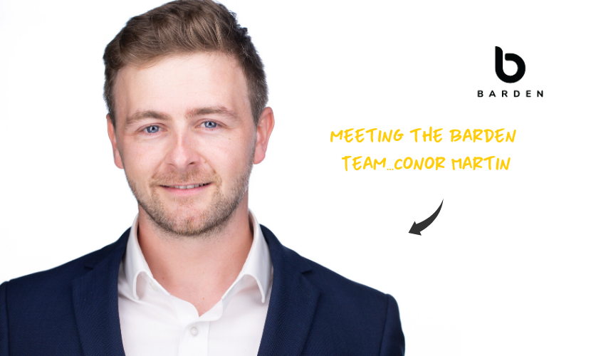 Meeting the Barden Team...Conor Martin