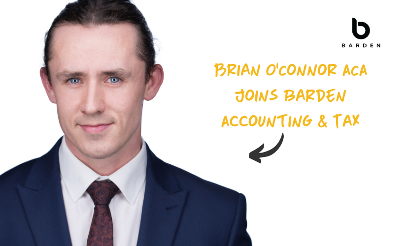 Brian O'Connor ACA Joins Barden Accounting & Tax