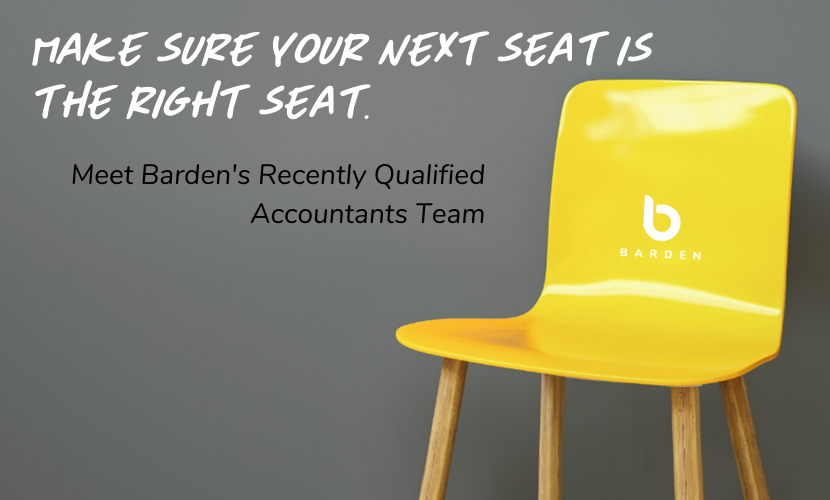 Meet Barden's Recently Qualified Accountants Team