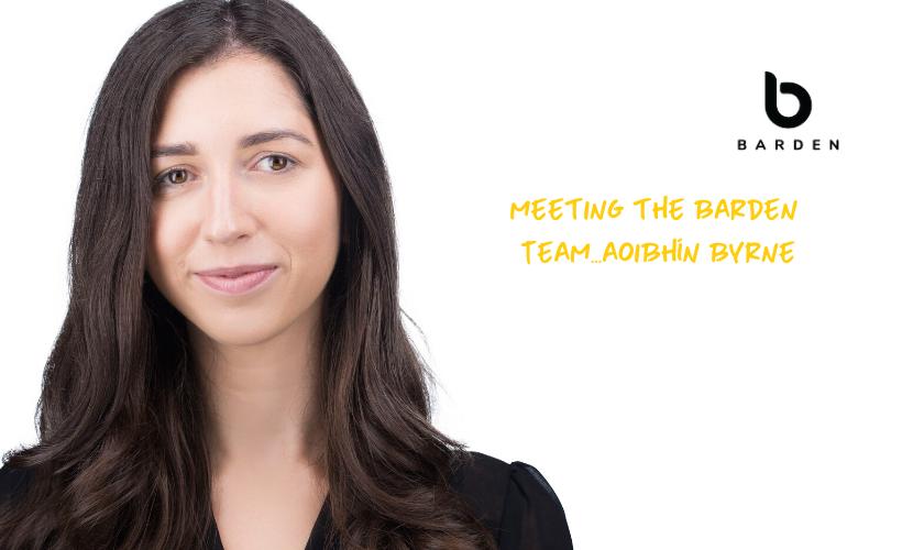 Meeting the Barden Team...Aoibhín Byrne