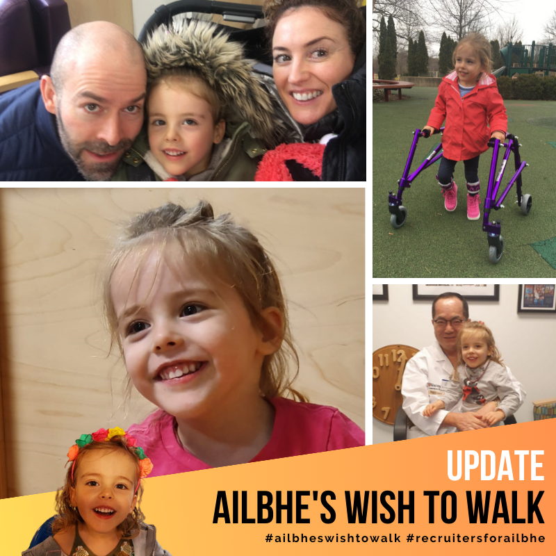 An Update on Ailbhe's Wish to Walk