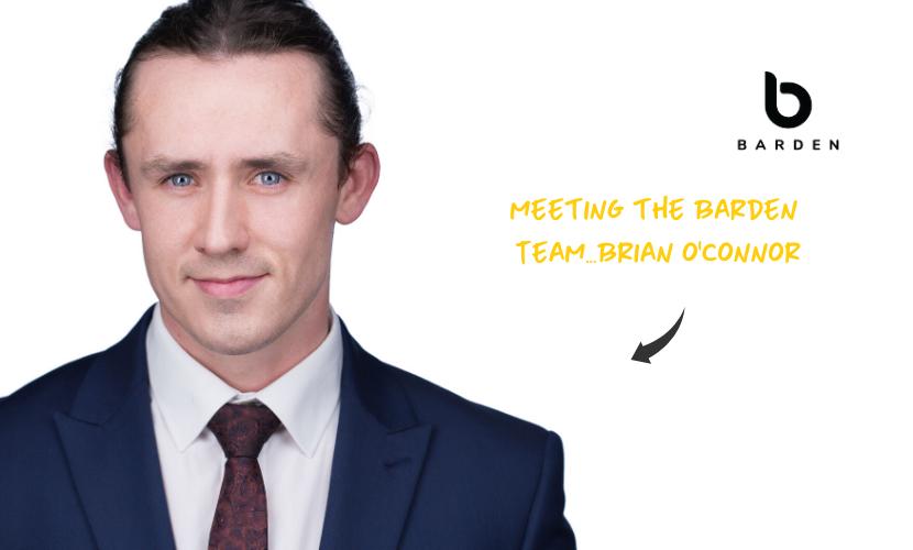 Meeting the Barden Team...Brian O'Connor