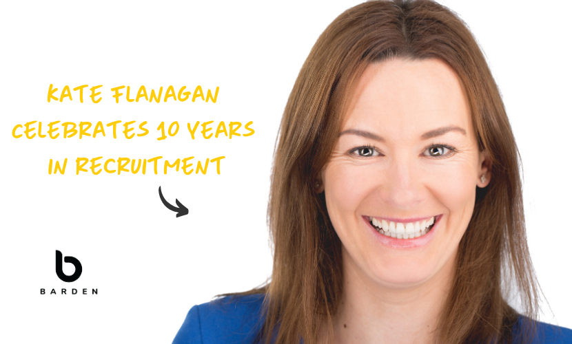 Kate Flanagan Celebrates 10 Years in Recruitment & Takes a Trip Down Memory Lane On How Much Has Changed in Recruitment & Tax...